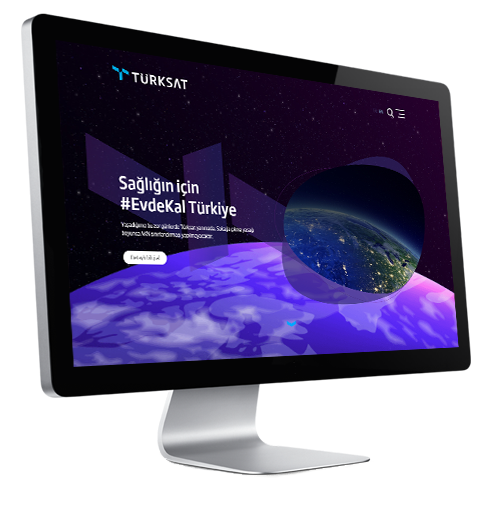 Navigate to Türksat Satellite website