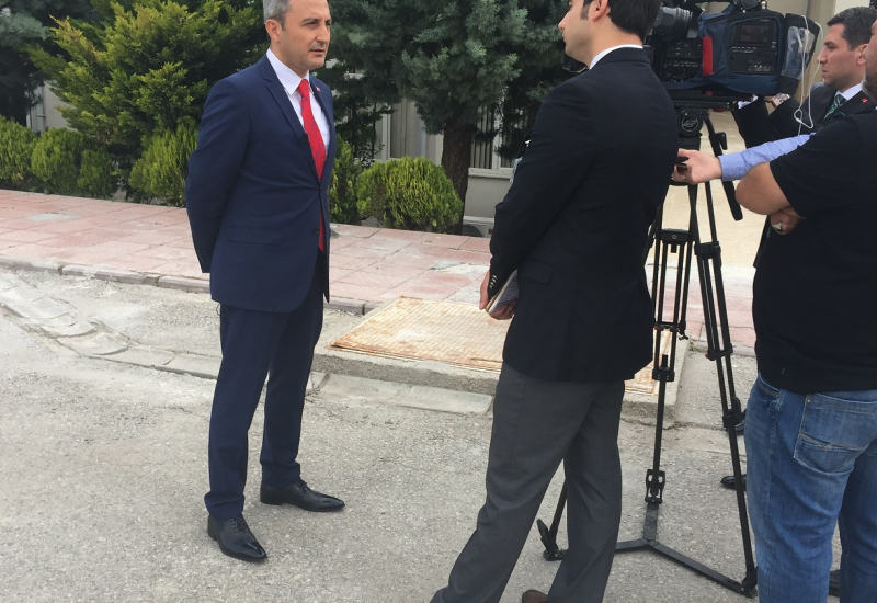 Türksat CEO, Cenk Şen speaks to TRT News