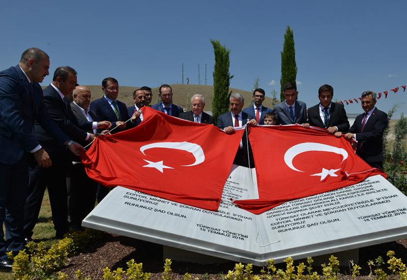 15 July Memorial Ceremony for Türksat Martyrs