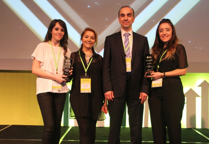 Türksat Receives award at A.C.E Awards Ceremony